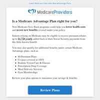Get Affordable Medicare Advantage Plans Today.