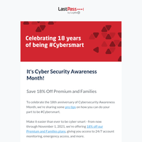 Staying safe this Cyber Security Awareness Month