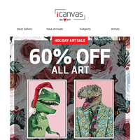 Sitewide Sale - Save 60% on Whatever Makes Your Heart Saur 🦖