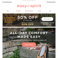 50% OFF All-Day Casual Comfort