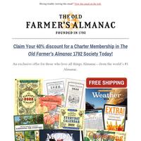 Last Chance: 2022 Almanacs Shipping Now!