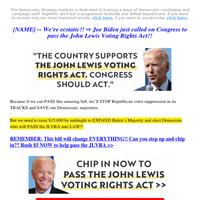Joe Biden just STUNNED us (re: JLVRA)