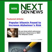 Popular Vitamin Found to Increase Alzheimer's Risk
