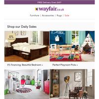 0% Financing: Explore bedroom picks & pay your way