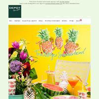 Neue Kollektion: Fruits & More - Spritzig, fruchtige Sommerdeko
