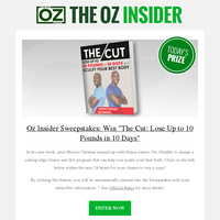 Lose weight in just 10 days! Enter to win Morris Chestnut's diet and exercise guide
