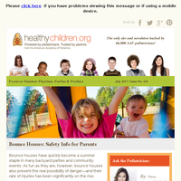 HealthyChildren.org - Focus on Summer Playtime, Parties & Produce