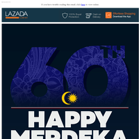 The Word That Everybody Would Say Today... Merdeka!