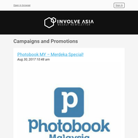 Photobook MY – Merdeka Special! and more!